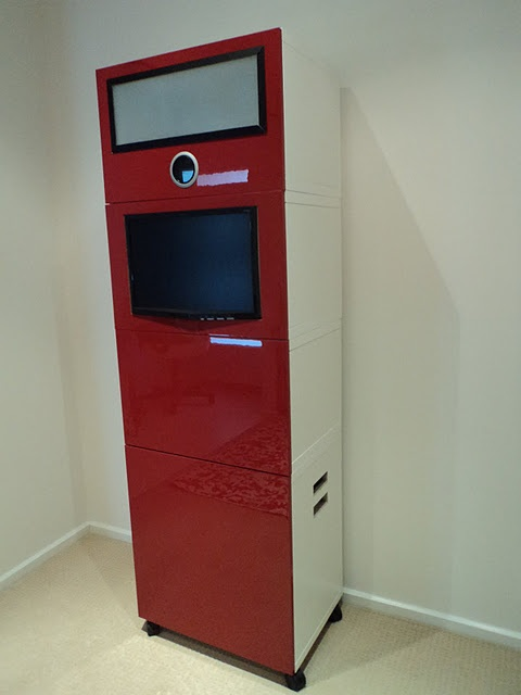 Photobooth out of ikea cabinets huge project but still pretty cool party ideas - Ikea planner camera ...