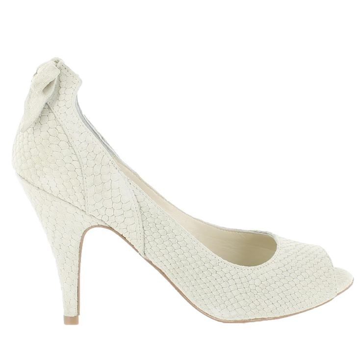 Beige Court shoe with peep toe - Marta Jonsson Love these shoes