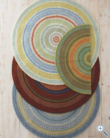 Half Story Rug With These Colors Needs To Be Rectangular Circle Rugbraided Rugsround