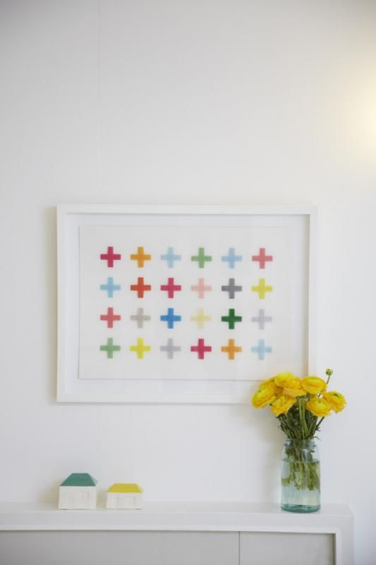 Handstitched limited edition textile art by Jane Denton. So happy to have discovered her amazing work.: Design Inspiration, Crafts Textiles, Design Milk, Jane Denton Art Crosses, Artists Jane, Interiors Design, Textiles Art, Textiles Patterns, Design Blog