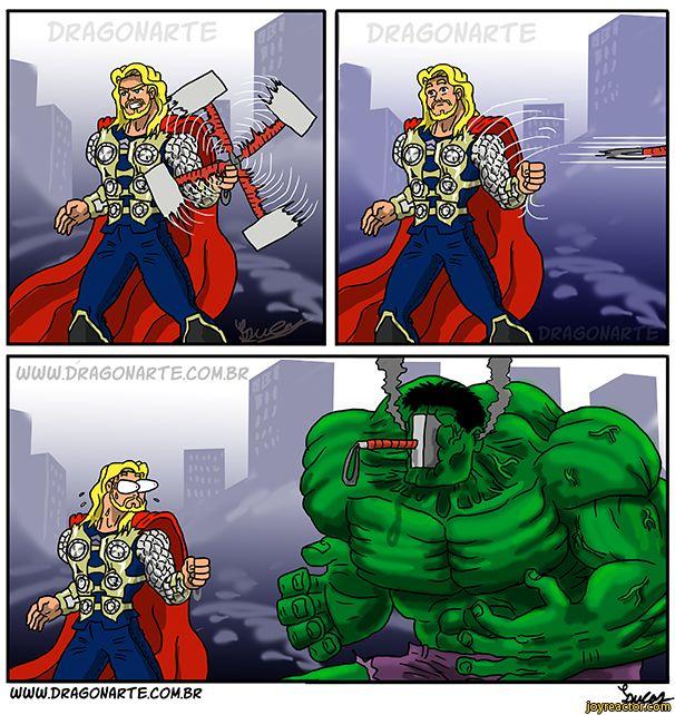 superheroes,thor,Hulk,Marvel,fandoms,comic,dragonarte