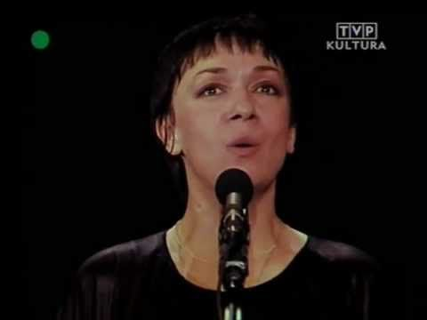 """Na moście w Avignon""(A.Zarycki/K.K.Baczyński). Koncert w Poznaniu- maj 1980…"
