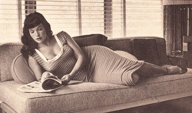 Sometimes less is not more....great pic though not in the classic pin-up style...pure Betty all the same