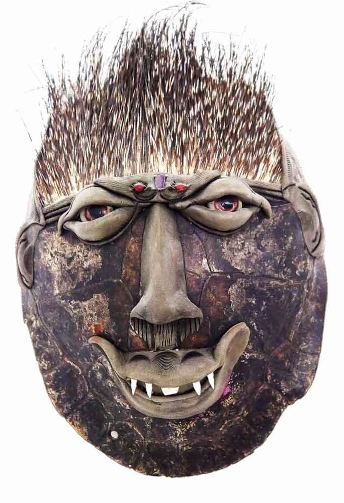 Turtle-Shell Mask | Manaus, Brasil