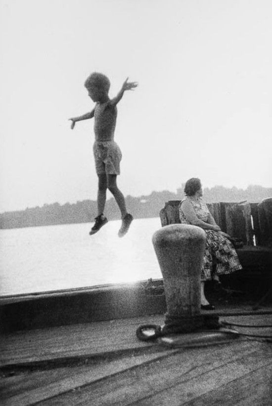 "uconstruction: ""_Jay Maisel (American 1931- ) • Jumping Boy """