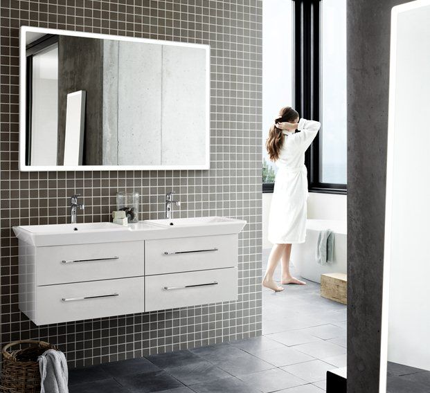 Dansani Calidris bathroom furniture offers uncompromising quality. The Danish furniture range is designed on the basis of a single idea: We want to create a complete series of furniture.