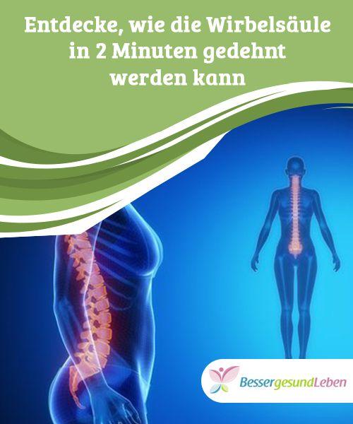 Entdecke, wie die #Wirbelsäule in 2 Minuten gedehnt werden kann Du benötigst nur 2 Minuten deiner Zeit, um diese #Streckübungen für die Wirbelsäule #durchzuführen und #Rückenschmerzen zu lindern.