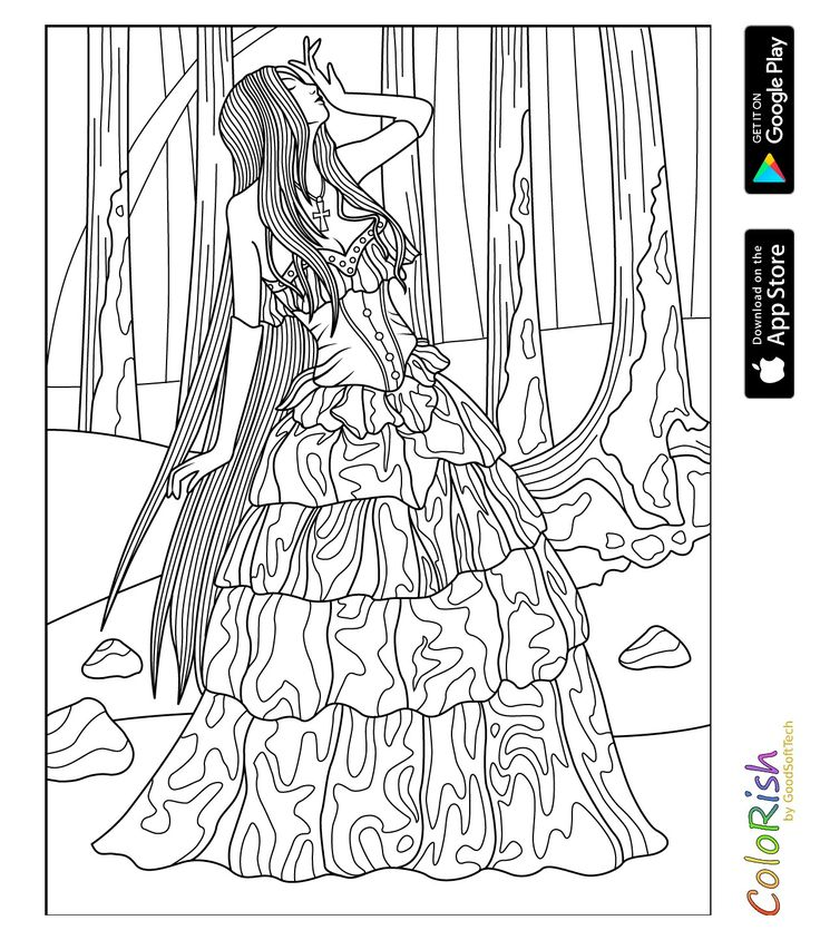 522 besten coloring people, mermaid, fairy Bilder auf Pinterest ...