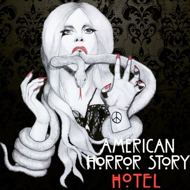 @ladygaga - American Horror Story: Hotel #New #Drawing #LadyGaga #AmericanHorrorStory #Coven #Hotel #Actress #ArtWork #MonsterArt #RyanMurphy #Picture #Snake #QueenSnake #SeansonFive #ScaryGaga #FollowForFollow  #FollowMe #GagaKiller #Gagaween #WorkingSaturday #ImLittelMonster #Littlemonster #PawsUp #MotherMonster #GoddessOfLove #CreativeRebelion
