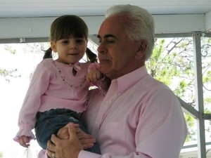 George and granddaughter Caylee