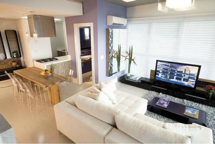 82 mejores im genes de ideas decoraci n pisos peque os en - Salon piso pequeno ...