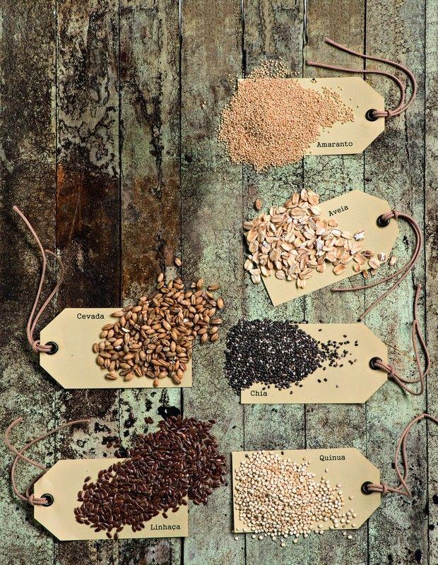 Cheios de nutrientes, alimentos funcionais como chia e quinua fazem bem ao corpo e a agradam ao paladar