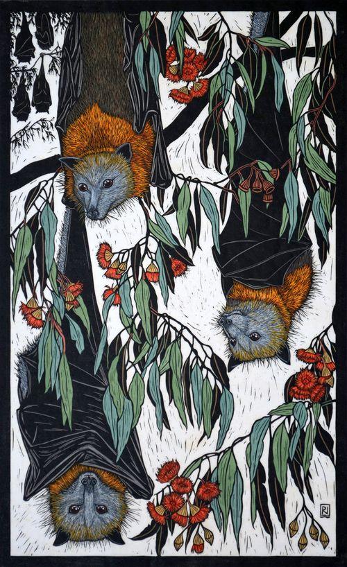 Wildlife - Linocuts — Rachel Newling