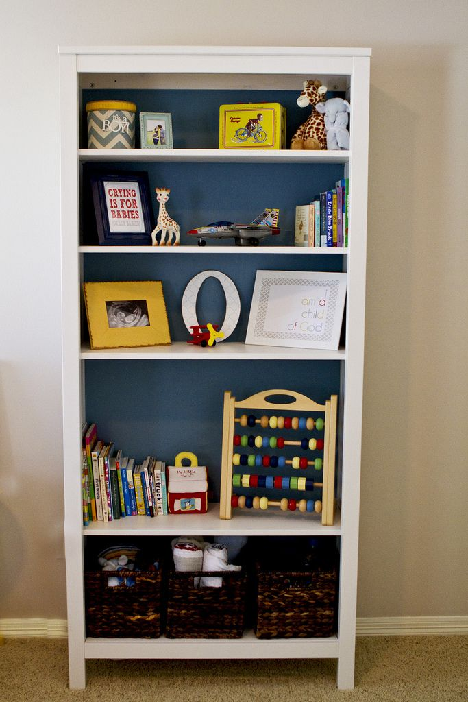 Hemnes Bookshelf With Fabric