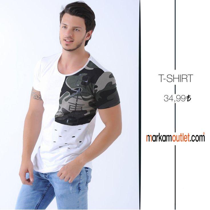 #erkek #tişört #beyaz #markamoutlet #alışveriş #outlet #online