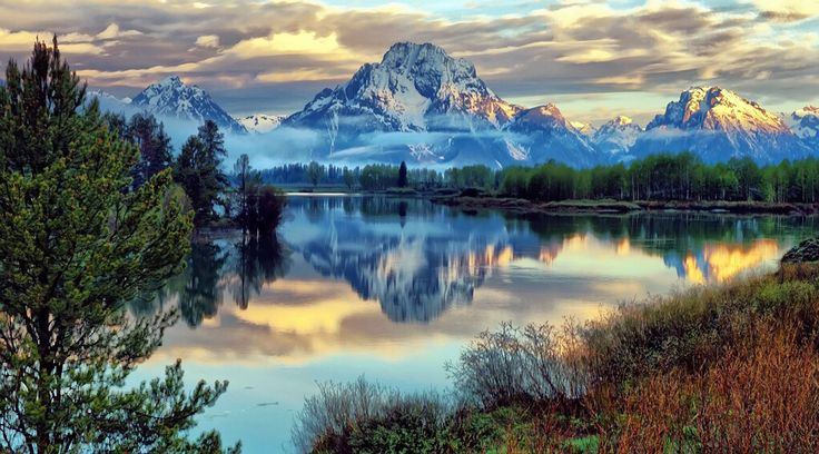 Parco nazionale del Grand Teton, Wyoming,USA ©Ph.Jeff Clow