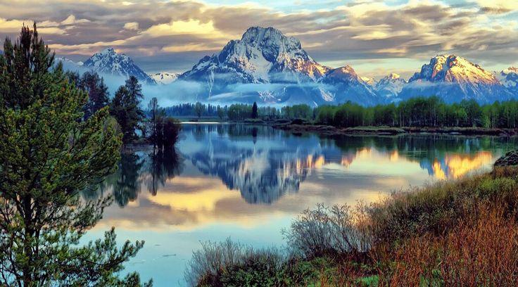 Parco nazionale del Grand Teton, Wyoming,USA ©Ph.Jeff Clow