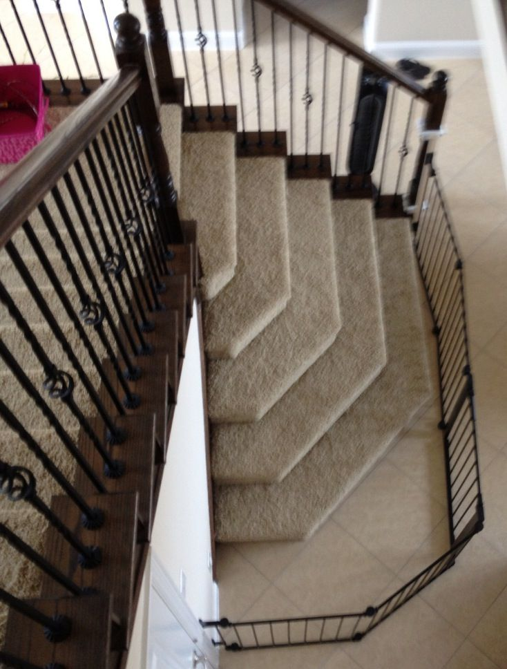 Baby Gate Stairs Banister Check Out Mountain Laurel
