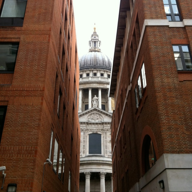 St. Paul's Cathedral - old meets new