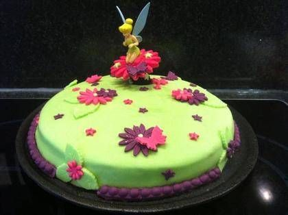 decoration gateau la fee clochette