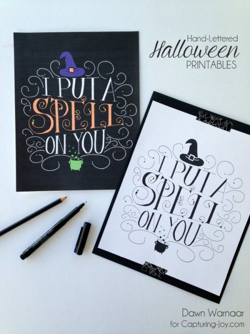 81 best Holidays - Halloween images on Pinterest Holidays - free halloween printable decorations