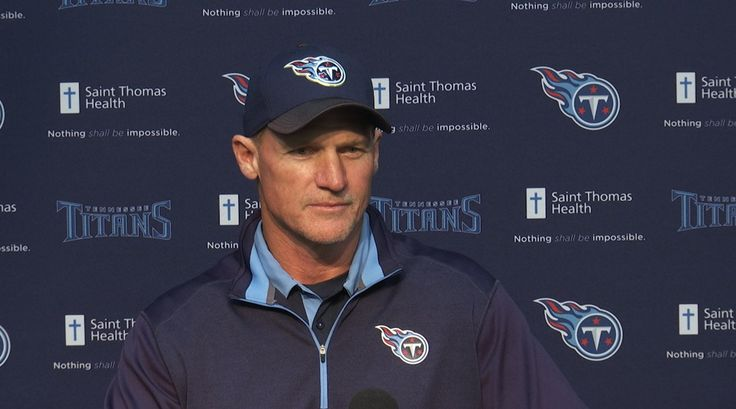 Tennessee Titans head coach Ken Whisenhunt addresses reporters for his day-after-game press conference at Saint Thomas Sports Park.