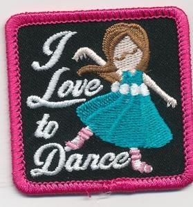 Girl Scout Dance Patch eBay