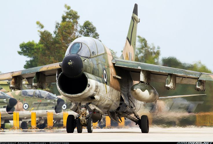 Hellenic Air Force Vought TA-7C Corsair II (Airliners.net)