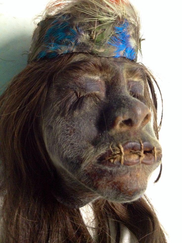 Real Shrunken Head for Sale Ex. Diego Rivera Collection. www.RealShrunkenHeads.com