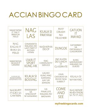 Bingo card generator free 1 99