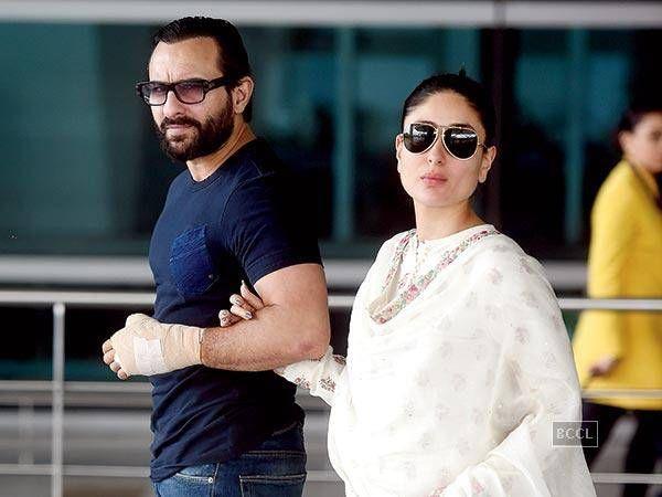 Saif and Kareena planning a babymoon