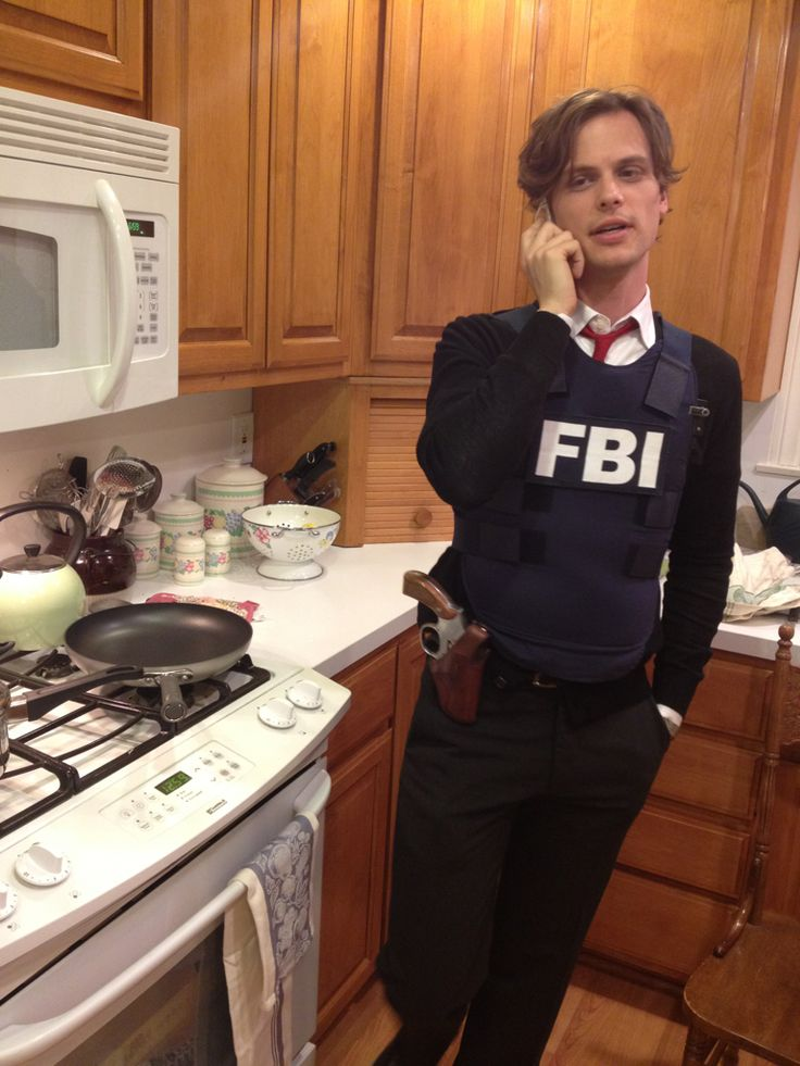 Matthew Gray Gubler...Yeah I'm making dinner, what do you want?...Well the pans already out, so it has to be something I can make with that.