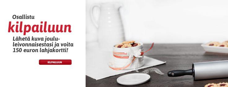 Voita 150 euron lahjakortti Heirol verkkokauppaan! Lähetä kuva joululeivonnaisestasi osoitteessa heirol.fi/kilpailu