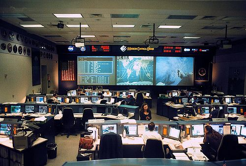 Mission Control: Space Shuttle | Control Room & Control ...