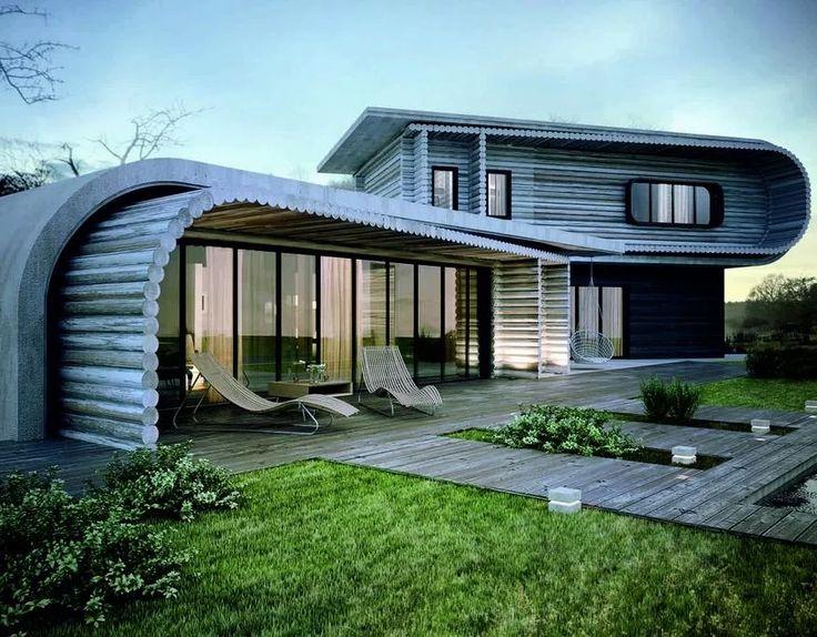 Wooden House Design Ideas- スクリーンショット