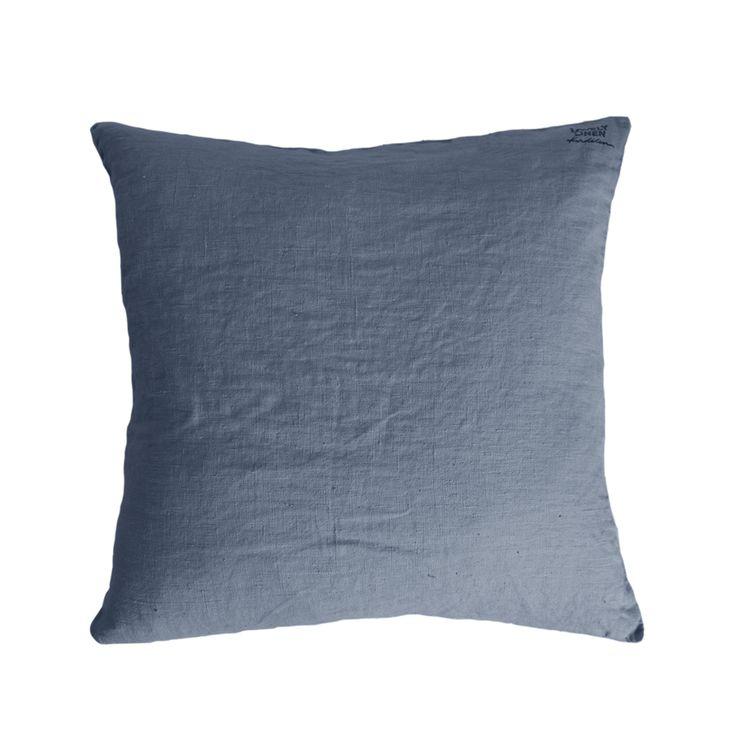 Lovely Linen kudde - Lovely Linen kudde - dusty blue