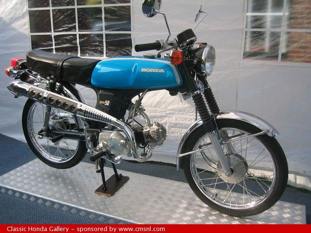 Honda SS50 4speed. First vehicle that I ever owned, but not the first engine!
