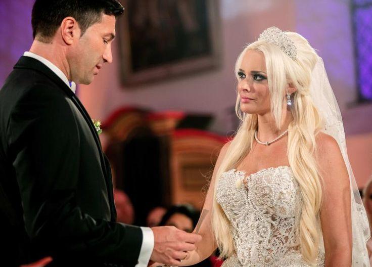 Daniela Katzenberger heiratete Lucas Cordalis am 4. Juni bei Bonn. Doch in der Hochzeitsnacht war sie allein.