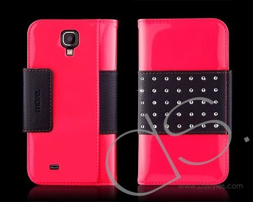 More-Thing Petite Leather Wallet Series Samsung Galaxy S4 Flip Leather Case i9500 - Pink  http://www.dsstyles.com/samsung-galaxy-s4-cases/more-thing-petite-leather-wallet-series-samsung-galaxy-s4-flip-leather-case-i9500-pink-2.html