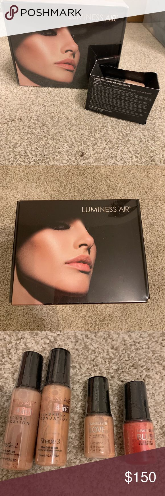 Luminess Air Airbrush makeup system NWT (With images