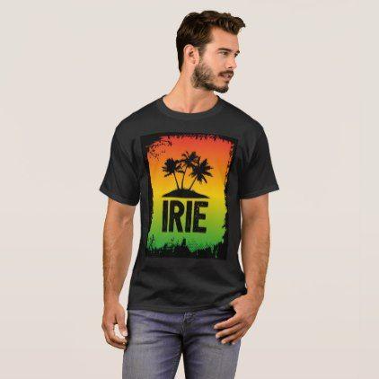 Tropical Irie Jamaica Rasta Chill Out Hello T-Shirt - quote pun meme quotes diy custom
