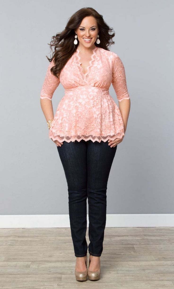 Dress code baby pink   best  fashion  images on Pinterest  Casual wear Curvy