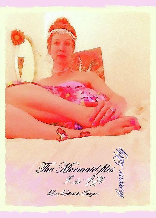 Legs Greeting Card featuring the photograph Legs The Mermaid Files by KiaRa