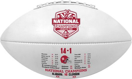 Alabama Crimson Tide Football - Full Size - 2016 College Football Playoff National Champion