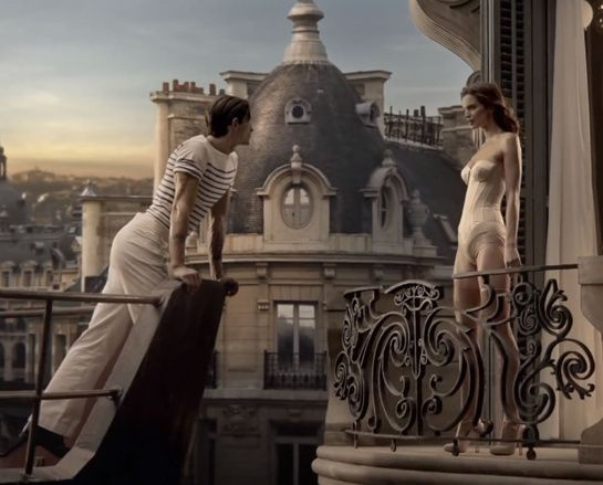 Classique, Le Mâle, Jean Paul Gaultier, perfume, film, johnny green, Jarrod Scott, Rianna Ten Haken