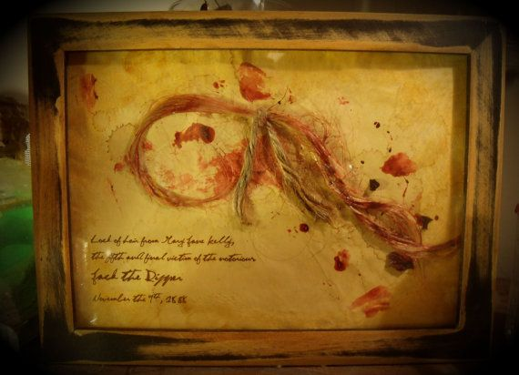 Lock of hair from Jack the Ripper victim by TheRagNBoneEmporium, $16.66