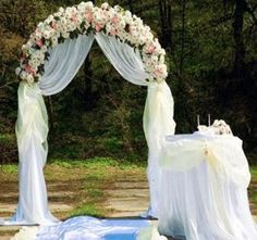 arco de matrimonio