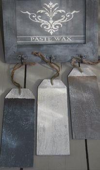 Painting the Past: Paste wax verkrijgbaar in meerdere kleuren!
