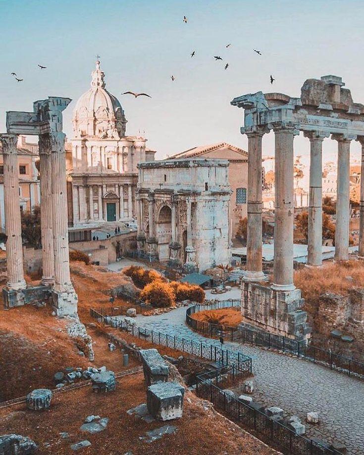 Das alte Rom ist so schön. Cc: @rick_avenali