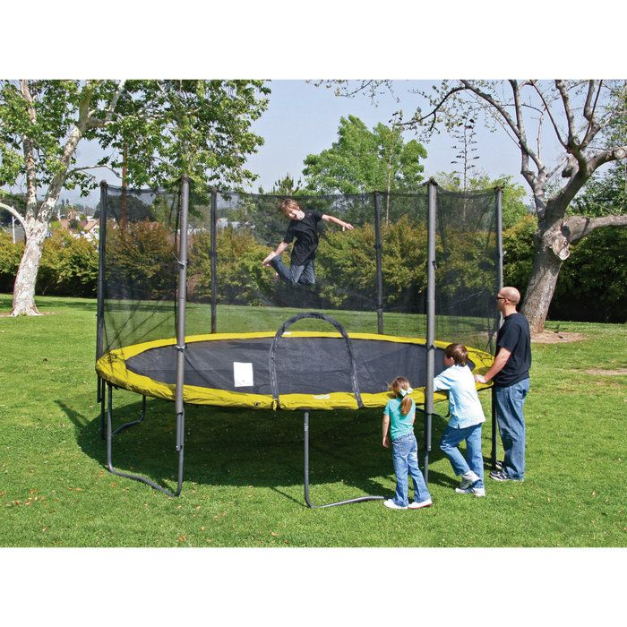 Airzone 14 Spring Trampoline And Enclosure Set: 1000+ Ideas About Trampoline With Enclosure On Pinterest